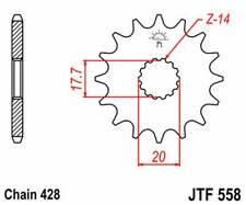 F55820: JT SPROCKETS Piñon JT 558 de acero con 20 dientes