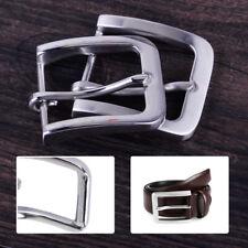 broche Boucle de Ceinture cuir en acier inoxydable Leather Belt Pin Buckle  Clip ebe45581e0a
