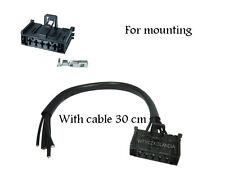 Vauxhall Corsa D / Fiat Grande Punto Heater Resistor Wiring Loom Repair Kit Plug