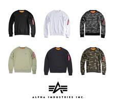 Alpha Industries Hombre X-Fit Jersey de Cuello Redondo (Varios Colores)
