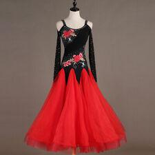 Hot ! Rumba Latin Salsa Samba Chacha Ballroom Dance Dress Dancewear 117