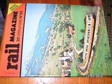 Rail Magazine n°63 P8 050TQ Paris-Bruxelles F.A.C.S
