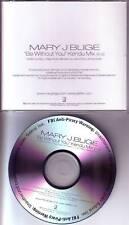 MARY J. BLIGE Be Without You RARE KENDU MIX PROMO DJ CD Single 2005 USA MINT