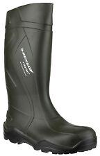 Dunlop Purofort+ Waterproof Pull On Mens Industrial Work Wellingtons UK3-14