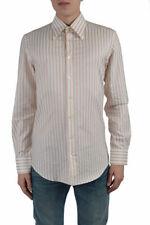 "Dolce & Gabbana ""Slim Fit"" Men's Multi-Color Dress Shirts US 16 17"