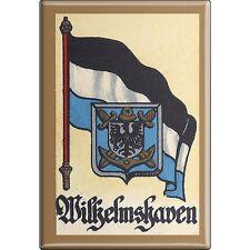 Fridge Magnet Shield Button Door Magnet Flag Wilhelmshaven 37552