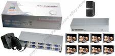 8way SVGA/VGA Splitter/Multiplier/Duplicator 8 way Amp