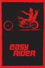 90983 EASY RIDER MOVIE RED BLACK NEGATIVE Decor WALL PRINT POSTER AU