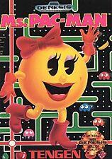 Ms. Pac-Man (Sega Genesis, 1991) VINTAGE GAMES COMPLETE!!!!!!!!!!!!!!