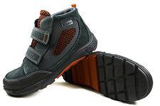 Ricosta MAREK Kinder Leder Schuhe SympaTEX Jungen Sneaker Gr.28-35 Grau 4229600