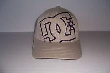 DC SHOES SWOOL UP 2 FLEXFIT MEN'S GRAY  HAT CAP SIZE S/M BRAND NEW!