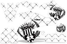 AMR GRAPHICS STICKER KIT HONDA CR250 CR125 250 97,98,99