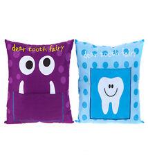 Large Tooth Fairy Money Pillow Kids Secret Wish Note Boys 30cm Cushion