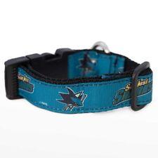San Jose Sharks NHL Premium dog pet collar (all sizes) NEW