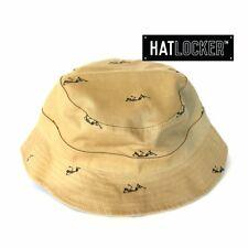 Crooks & Castles - Regiment Reversible Khaki Bucket Hat