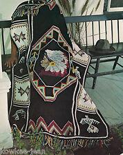 Afghanery: knit, crochet, afghan stitch, PATTERNS, wedding ring, indian blanket