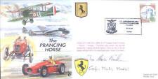 CC37 fuerza aérea italiana & Enzo Ferrari RAF Cubierta firmado F104 ITAF pilotos