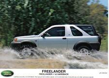Land Rover Freelander i di Hardback original Press Photograph 1997 No.1197 916