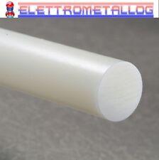Barra tonda  Nylon Zellamid(PA6) Bianco diamatro da 15 mm a 60mm