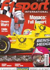 F1 Sport Jul 2000 Prost, Rain Racing, Monaco Grand Prix