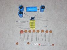 AMI JUKEBOX AMP REBUILD CAP CAPACITOR KIT FOR MODELS F G H OR I