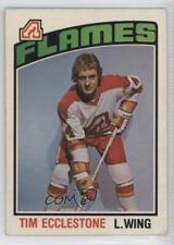 1976-77 O-Pee-Chee #351 Tim Ecclestone Atlanta Flames Hockey Card