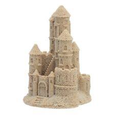 "Sand Castle Figurine Sculpture 409 4.5"" Tall Collectible Beach Decor Art"