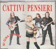CATTIVI PENSIERI  raro CD SINGLE PROMO 1 traccia stampa ITALIANA Mi gira l'anima