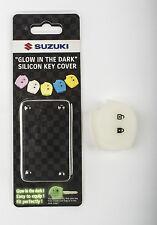 "Genuine Suzuki Silicone ""Glow in the Dark"" Key Cover Case Shell Assorted Colours"