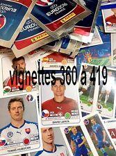 Sticker 360 à 419  PANINI UEFA  EURO 2016 FRANCE - VIGNETTES