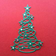 Árbol De Navidad Die Cuts-Liso O embellecido Surtidos conjuntos para cardmaking