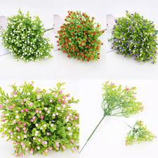 DIY Flower Miniature Plant Milan Artificial Fake Home Garden Floral Deocrs