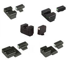 TruGlo Brite Site Tritium Pro Handgun Series Front/Rear Pistol Night Set Sights