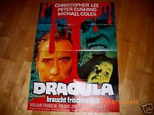 Dracula braucht frisches Blut  Christopher Lee   Hammer-Studio