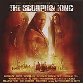 """SCORPION KING""-FILM SOUNDTRACK-OZZY-ROB ZOMBIE-CREED-NICKELBACK-BRAND NEW CD"