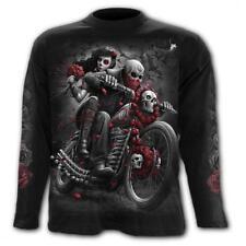Camiseta Chico Dotd bikers skull roses catrina D081M301 Spiral Direct