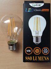 8w LED GLS Filament Light Bulbs Lamp ES Screw In E27 70w 1 2 4 Bulbs Value!