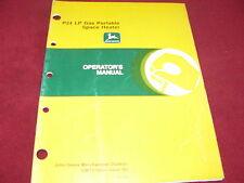 John Deere P24 LP Gas Portable Space Heater Operator's Manual