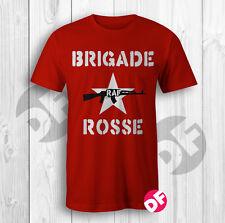 Brigade Rosse Joe Strummer RAF Clash 1977 Punk Rare vintage replica style Tshirt