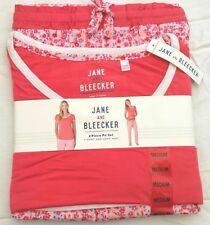Jane and Bleecker 2 Piece PJ Set Pyjama Sleepwear Nightwear