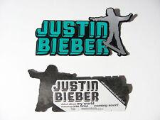 Justin Bieber My World One Time Amp Bike Board Sticker