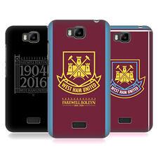 OFFICIAL WEST HAM UNITED FC RETRO CREST HARD BACK CASE FOR HUAWEI PHONES 2