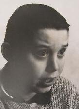 1960 BOY EMOTIONS LISTED FRANCIS MILLER PHOTOGRAPHER PHOTO LIFE MAGAZINE VINTAGE