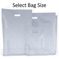 Bolsas de plástico transparente/portador de tienda de regalos Bolsa/Boutique minorista-Pequeños Y Grandes