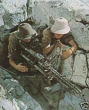 COLOR WWII  Photo German Afrika Corps MG34 MG-34 WW2