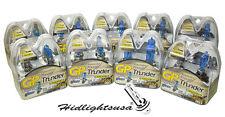 GP Thunder 5800K Super White Xenon Light Bulbs H1 H3 H4 H7 H8 H11 H11B 9005 9006
