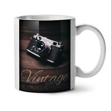Vintage foto camera Nuevo Blanco Té Café Taza 11 OZ (approx. 311.84 g) | wellcoda