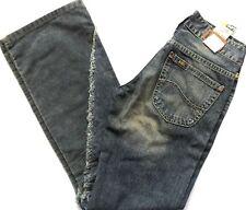 LEE jeans femmes filles lone slim boot cut distressed tailles: W8 x L31, W8 x L33