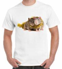 NATALE PET RATTI t-shirt uomo-regalo di Natale Regalo di Natale ratto