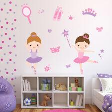 Pink Ballerina Girls Wall Decal Sticker Set WS-41298